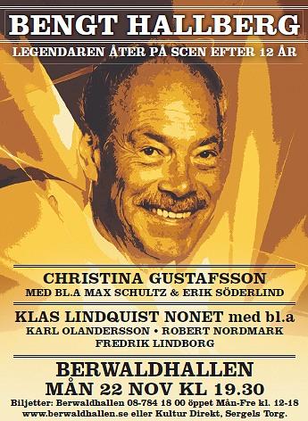 Karl Olandersson, Robert Nordmark och Fredrik Lindborg medverkar samt Christina Gustafsson vokalt. Bengt efter 12 år på scen. Jättekul. - 101005a
